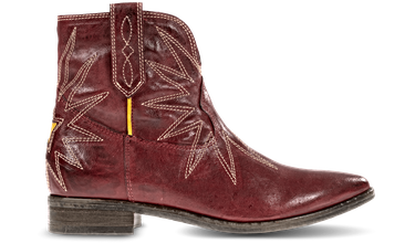 1PLAY226, LEATHER | RED-YELLOW